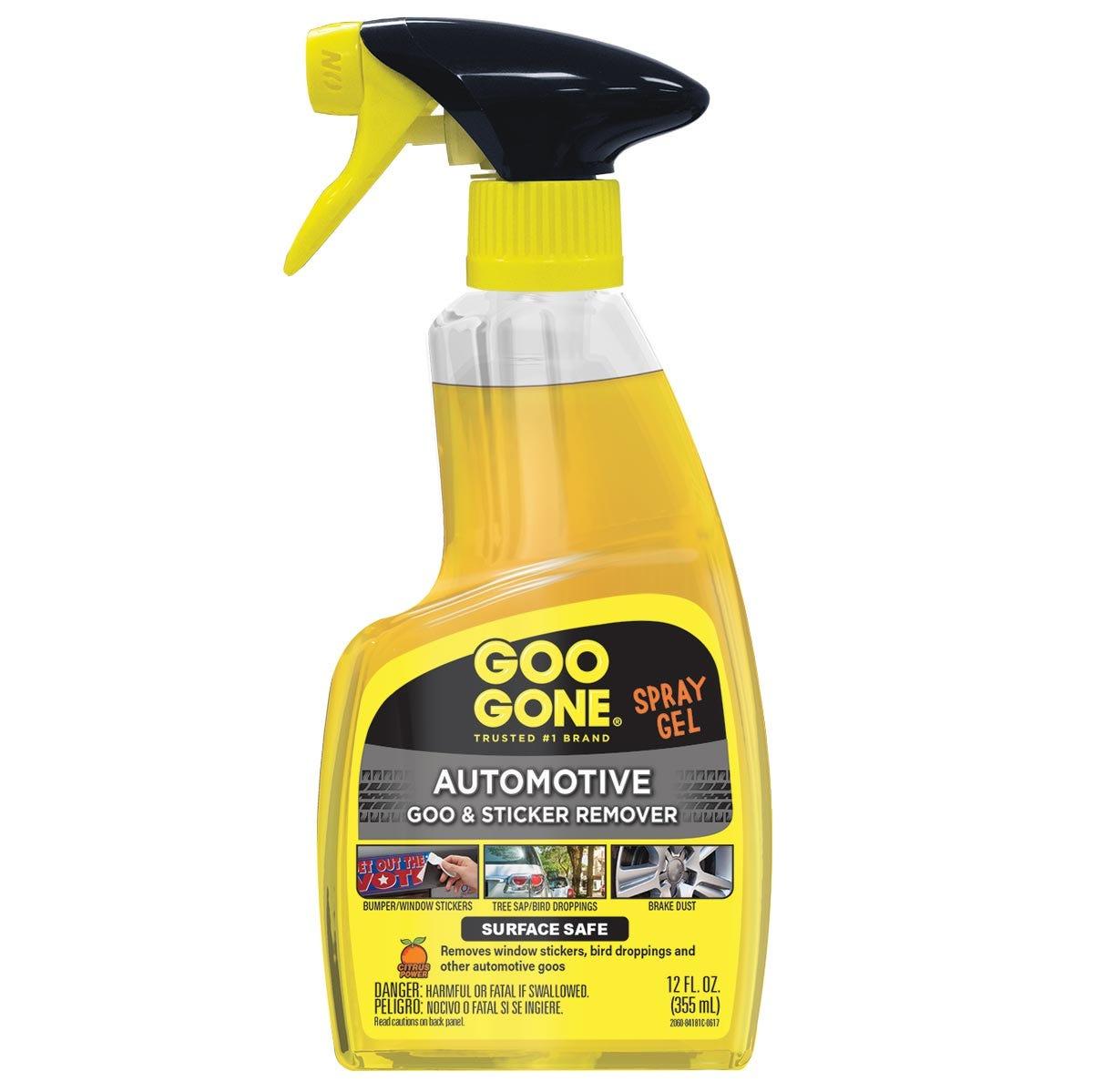 Automotive Adhesive Remover Spray Gel