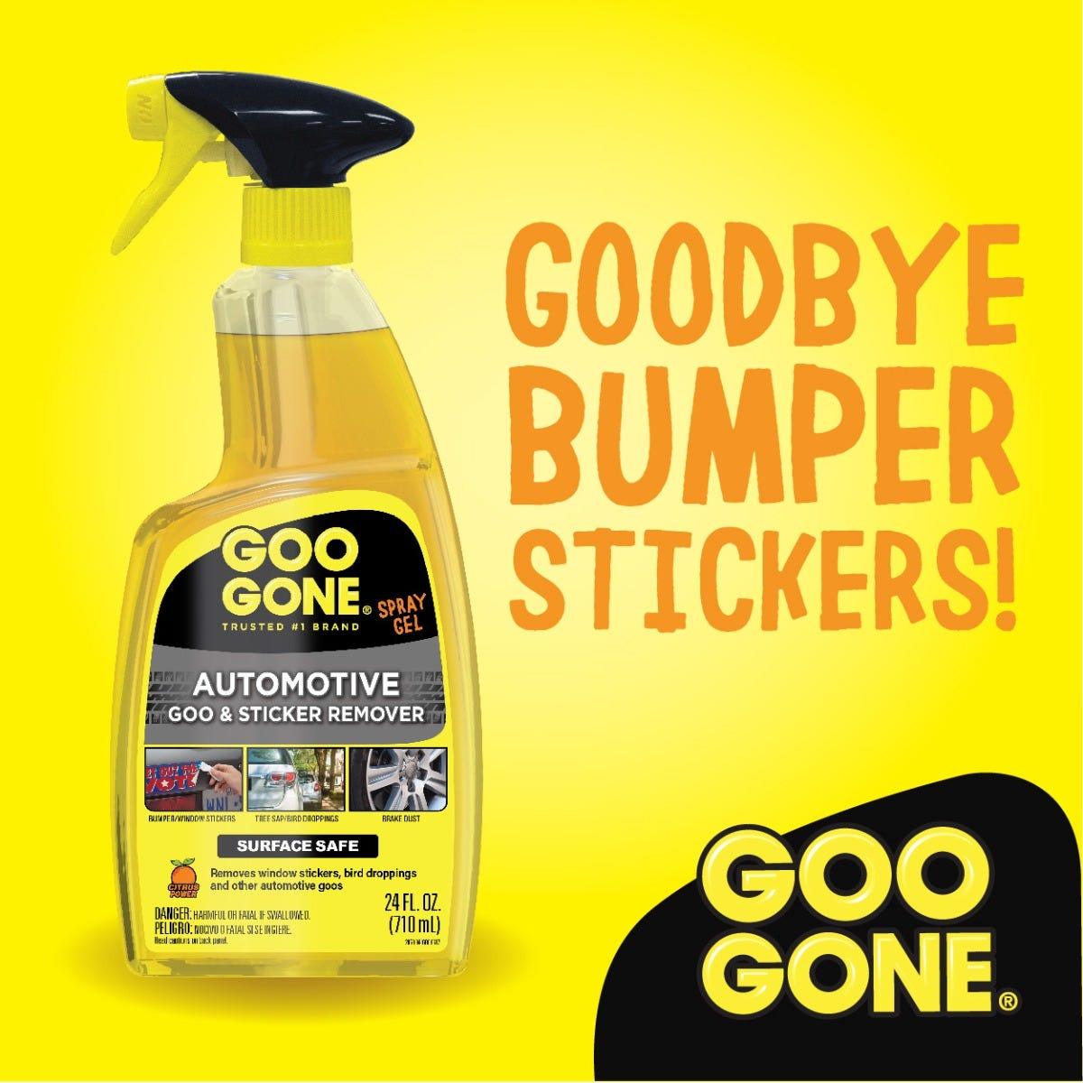 Goodbye bumper stickers