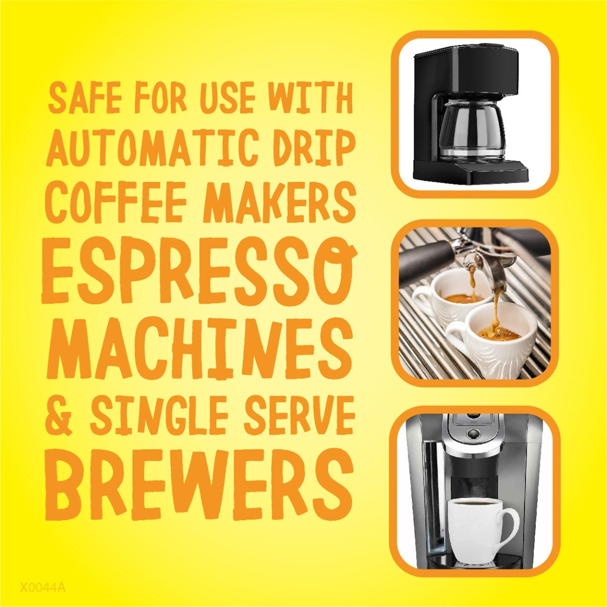Use on all types of coffee machines
