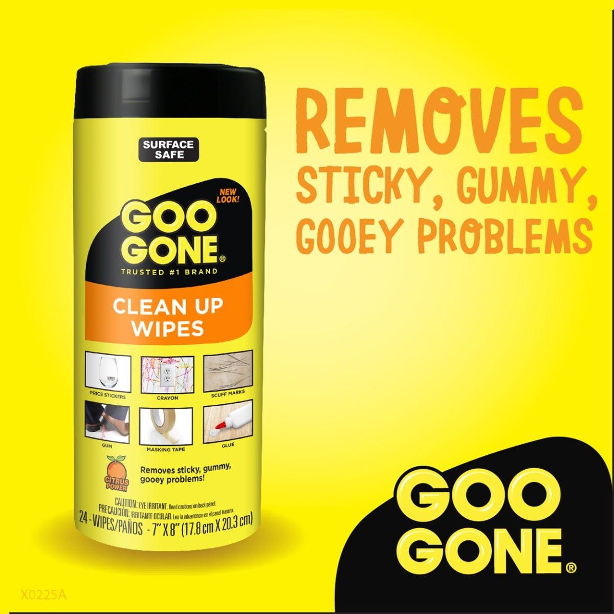 Goo Gone Clean Up Wipes Beauty