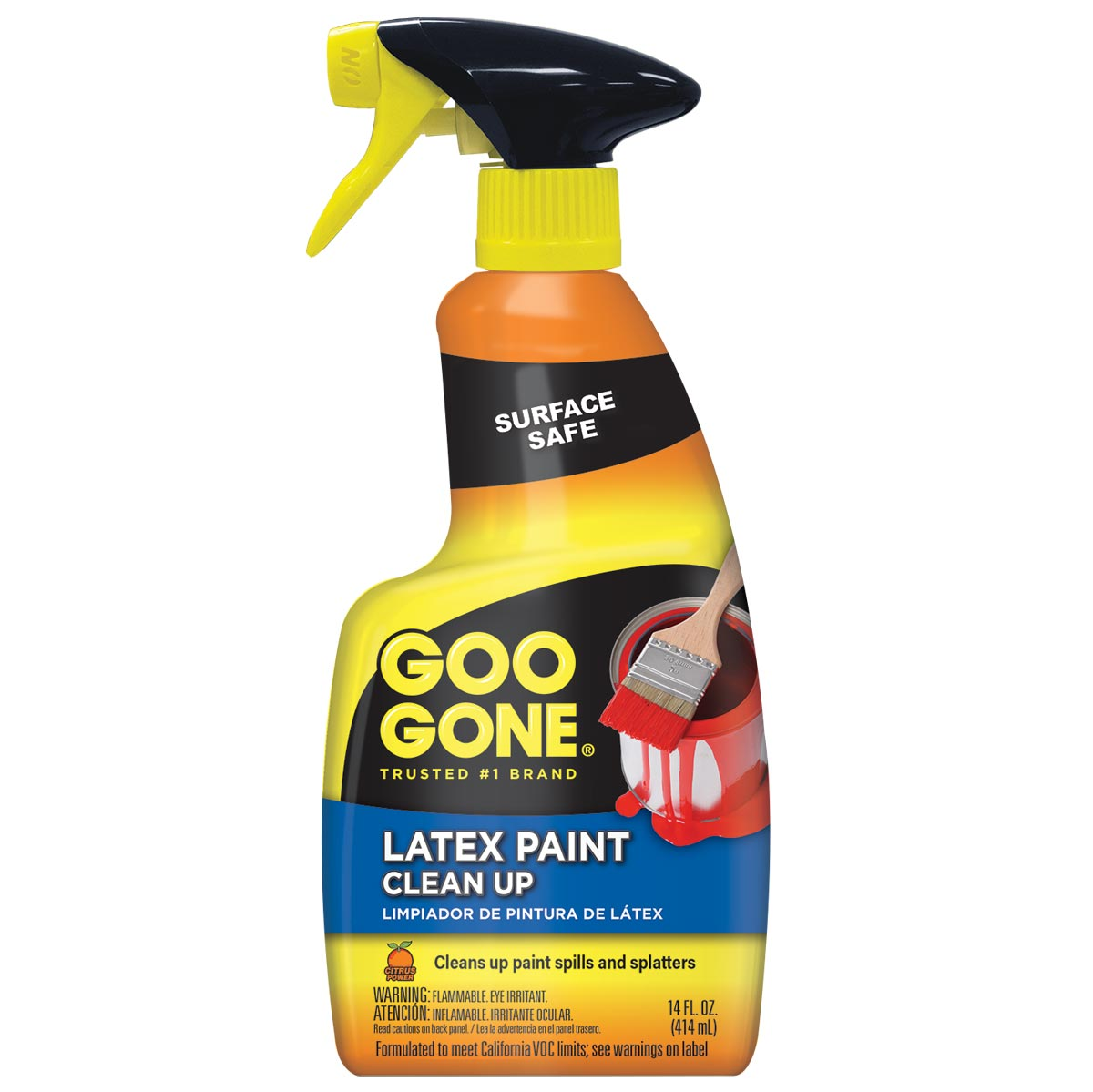 Goo Gone Latex Paint Clean Up