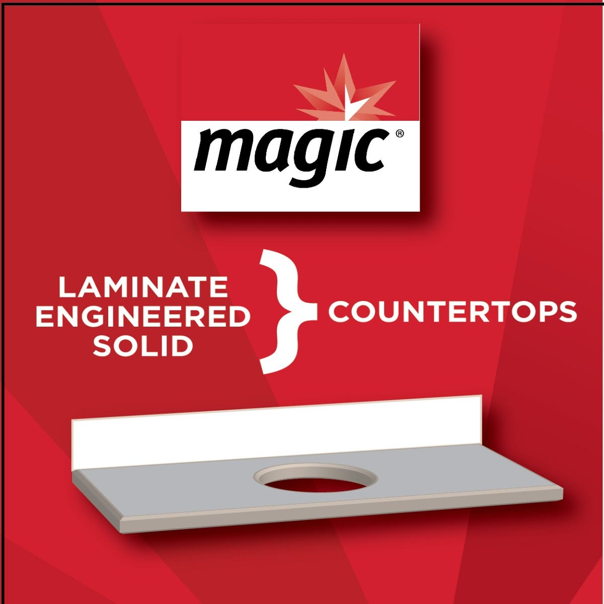 Magic Laminate Countertop Cleaner surfaces to use on