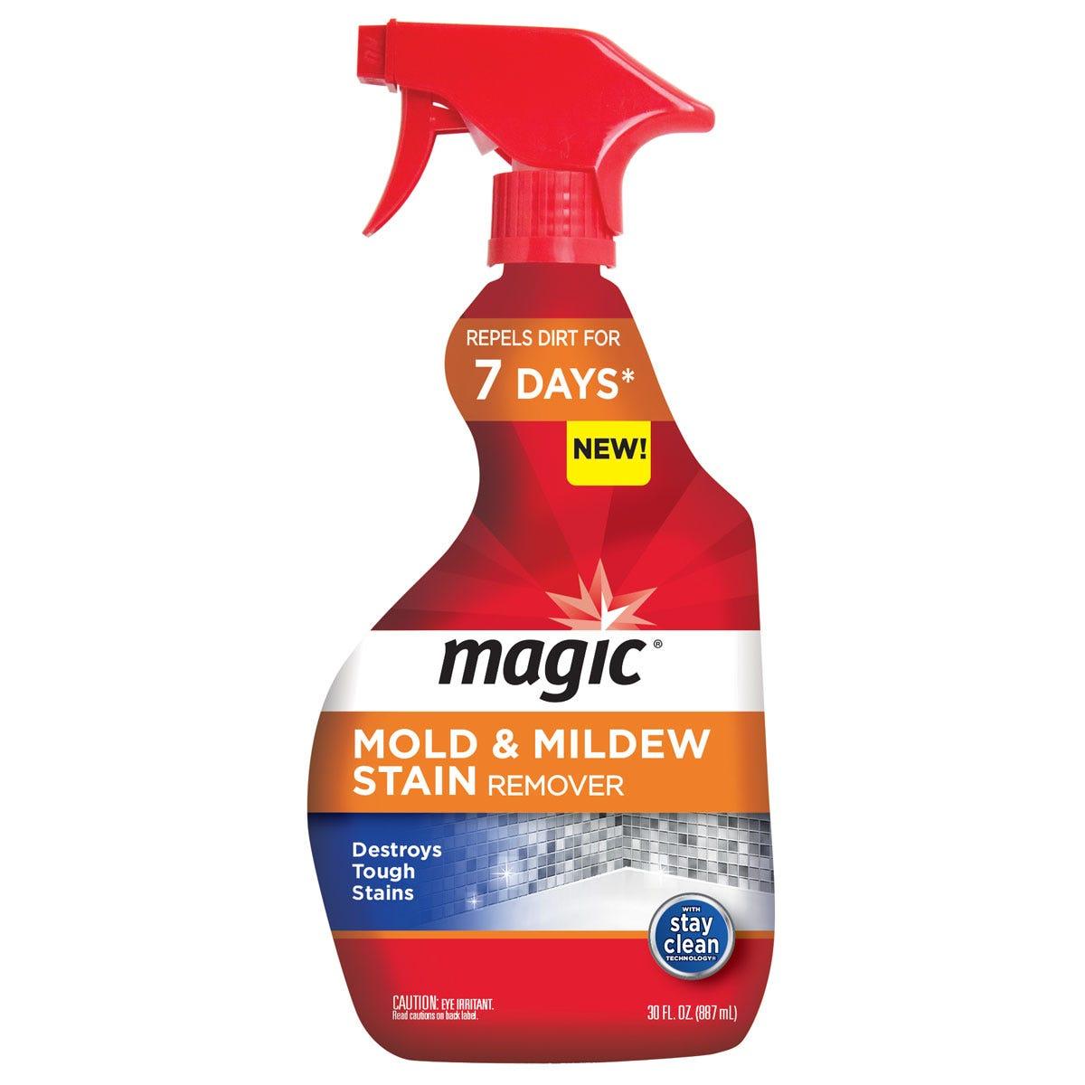 Mildew stain remover