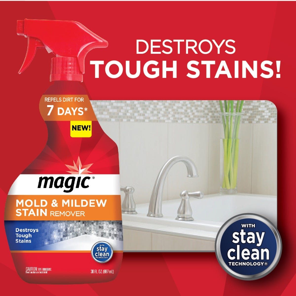 Magic Mold & Mildew Stain Remover