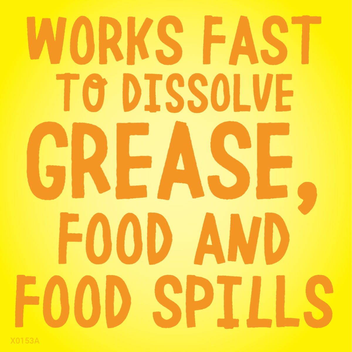 Dissolve grease fast