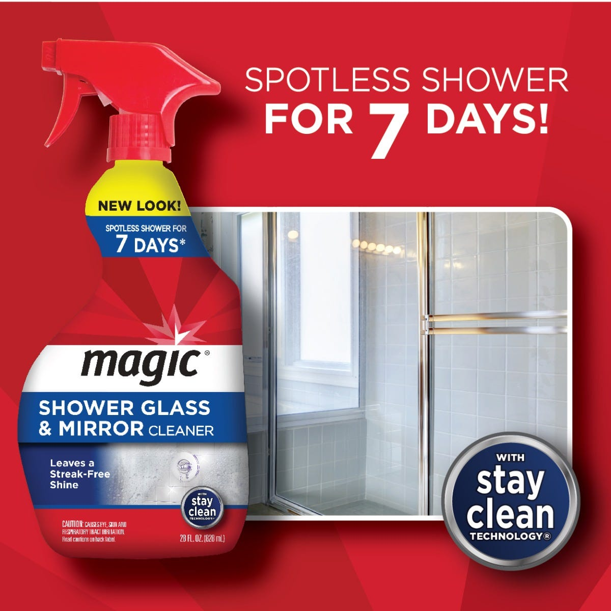 Magic Shower Glass & Mirror Cleaner