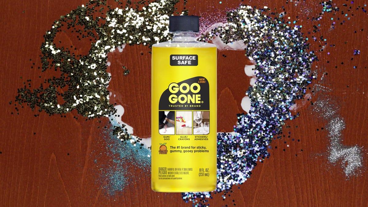Glue & Glitter Craft Clean-Up