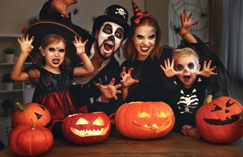 How to Remove Halloween Face Paint and Adhesives