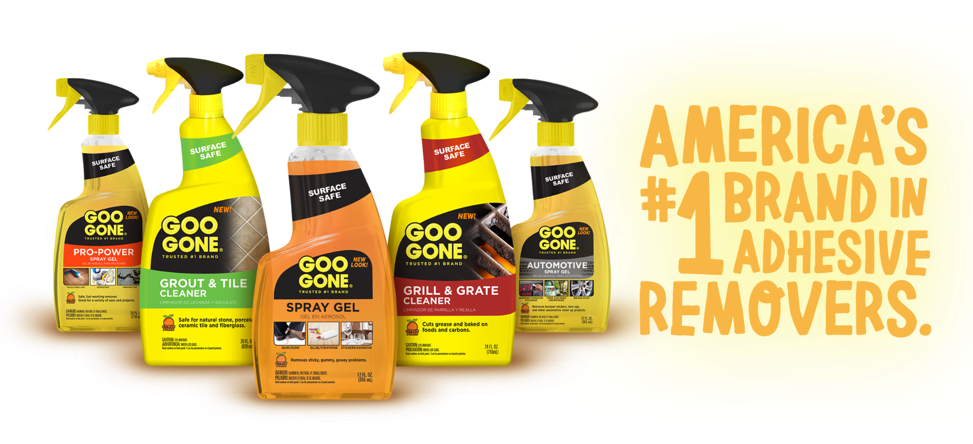 America's Number One Brand in Adhesive Removers